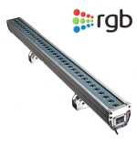 """48"""" Length 36W LED Linear Wall Washer  - RGB with DMX Control"""